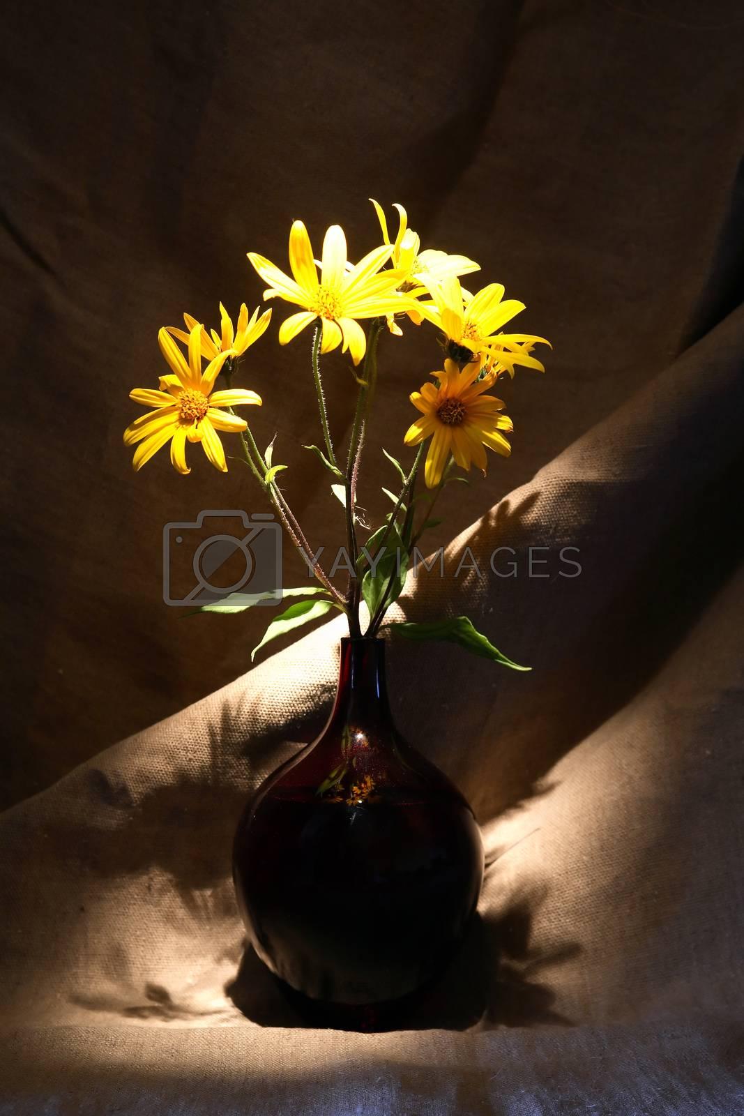 Royalty free image of Flowers In Vase by kvkirillov