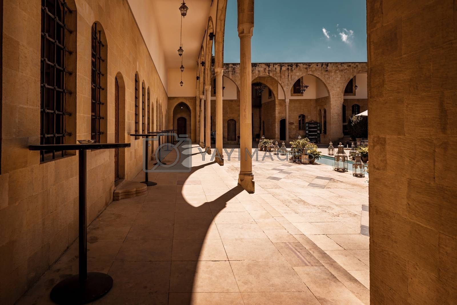 Royalty free image of Arabic Style Architecture by Anna_Omelchenko