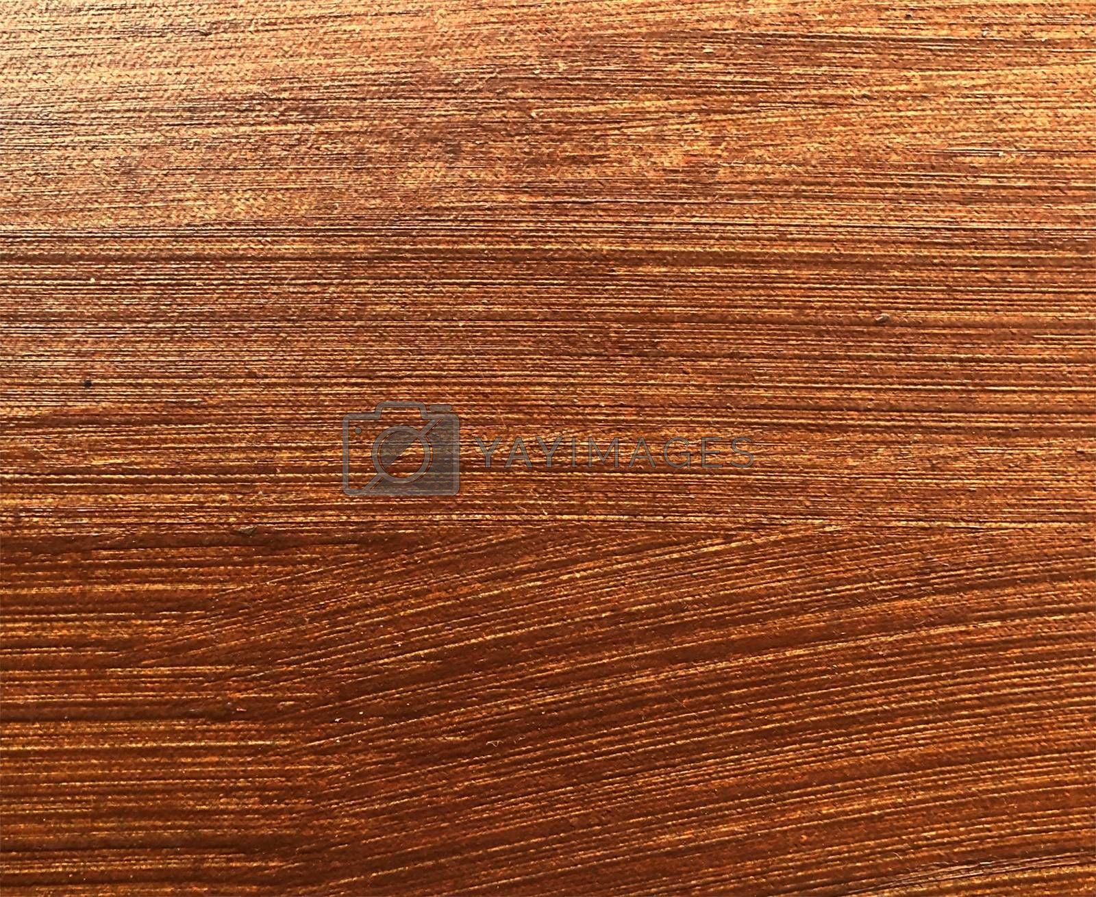 Abstract texture of brown wood with oil pasted as background image.