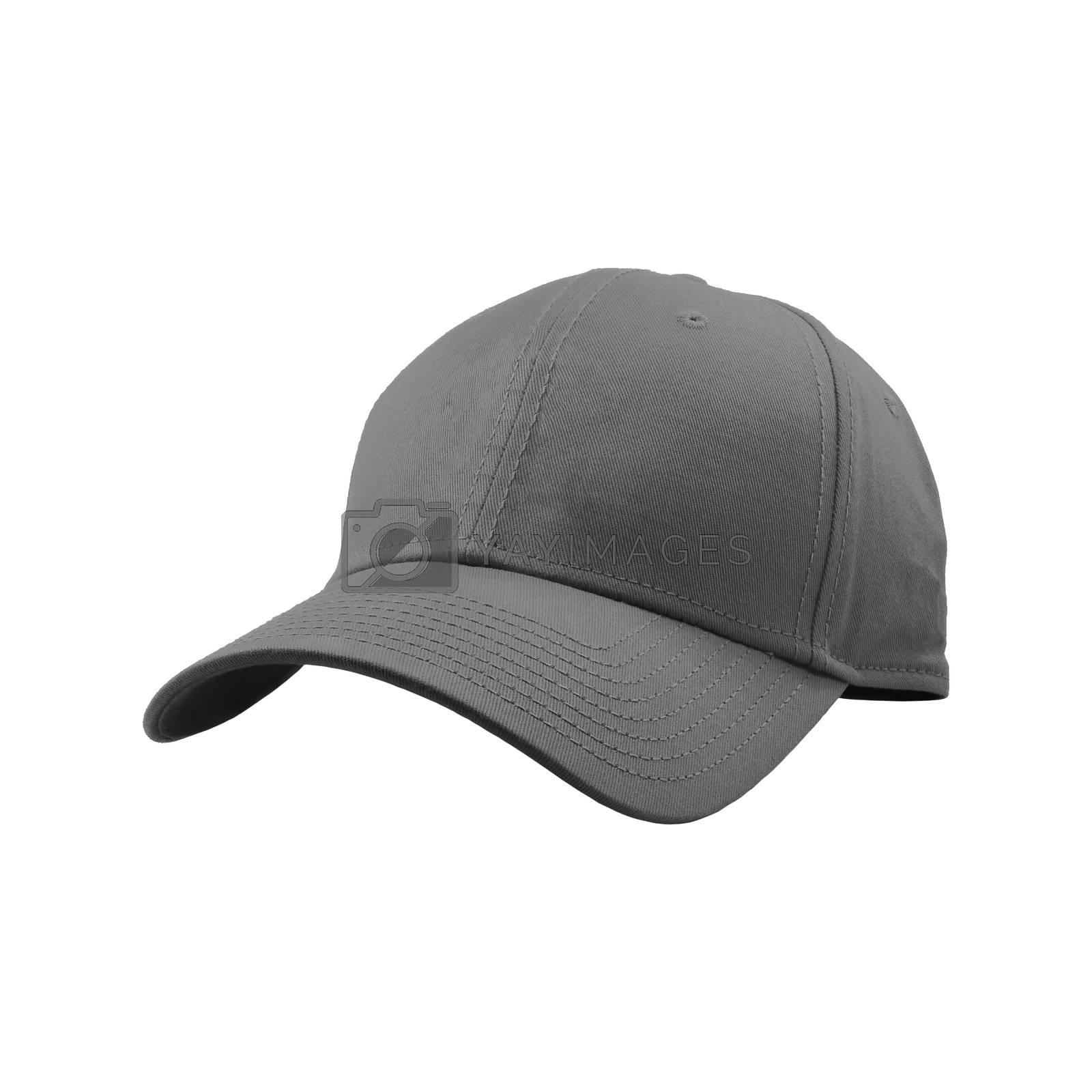 Colorful fashion cap isolated on white background.