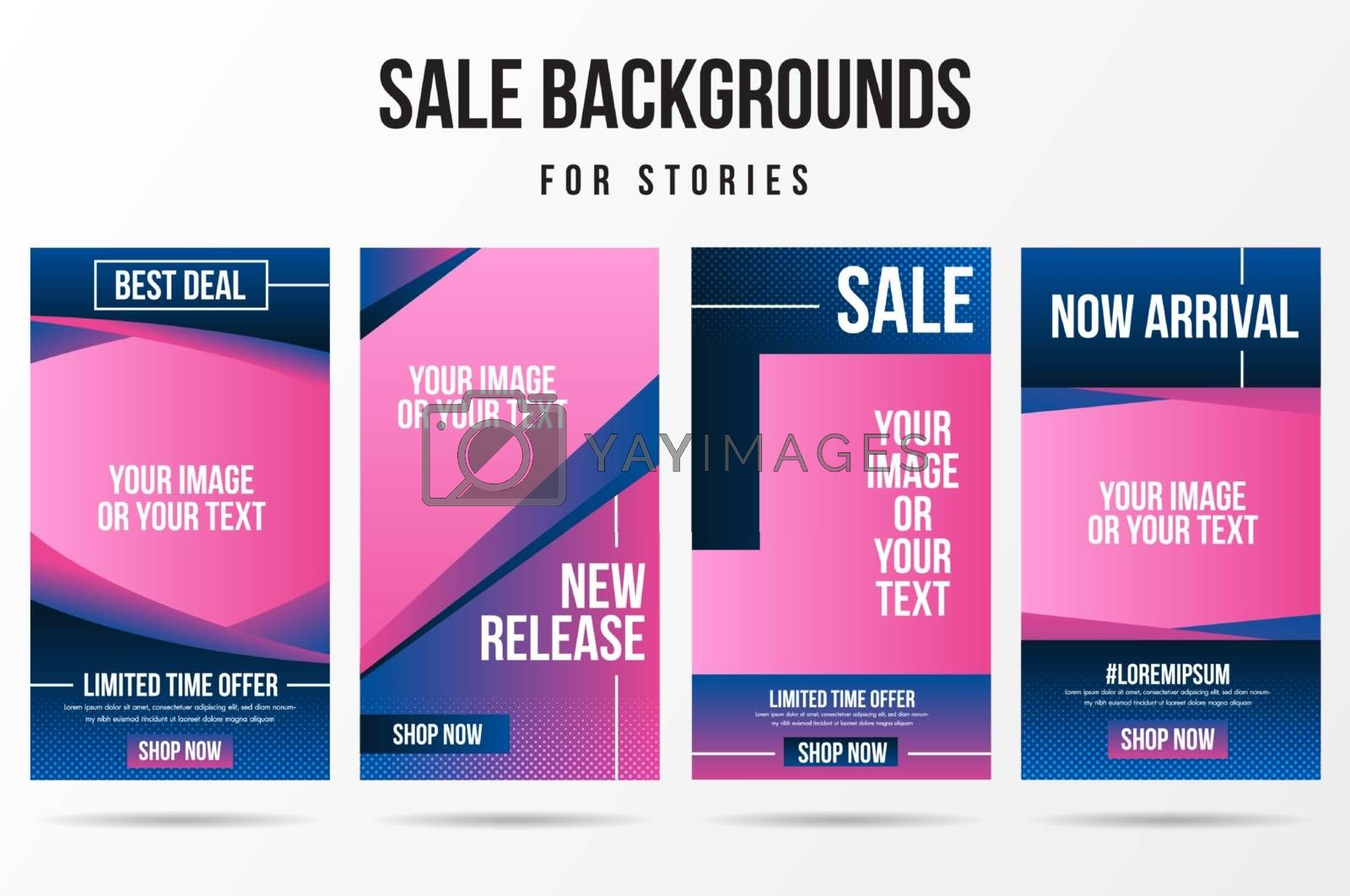 Trendy editable sale, special offer and new release template for social networks stories.Cover social media background. Can be use for, website, mobile app, poster, flyer, coupon, web design.