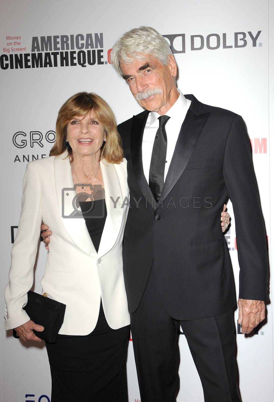 Katharine Ross and Sam Elliott by Lumeimages