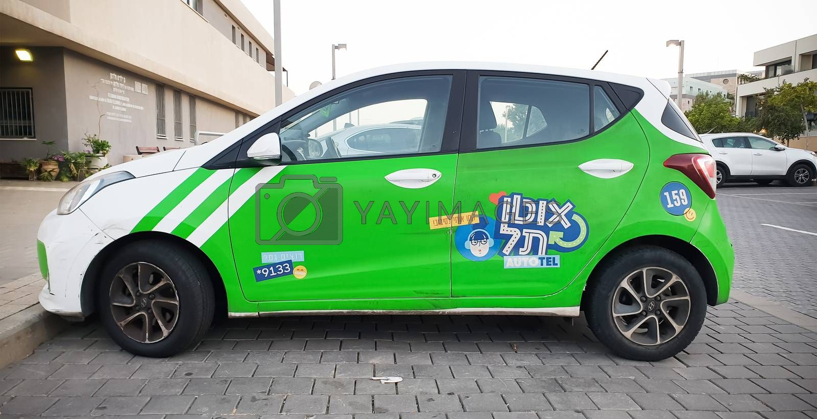 Tel-Aviv vehicle-sharing service by HD_premium_shots