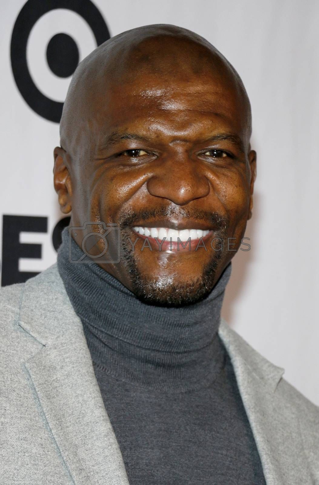 Terry Crews at the Eva Longoria Foundation Dinner Gala held at the Four Seasons Hotel in Beverly Hills, USA on November 8, 2018.