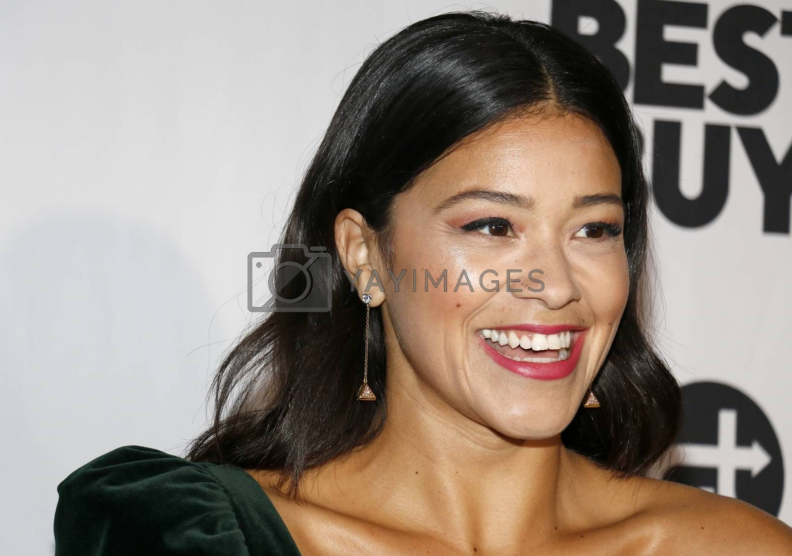 Gina Rodriguez at the Eva Longoria Foundation Dinner Gala held at the Four Seasons Hotel in Beverly Hills, USA on November 8, 2018.
