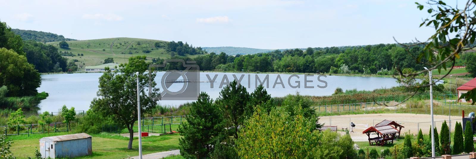 Royalty free image of Herneacova lake by tony4urban