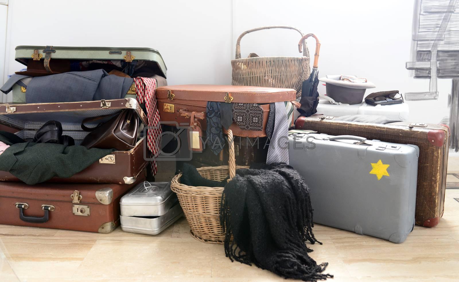 Royalty free image of jewish luggage by tony4urban