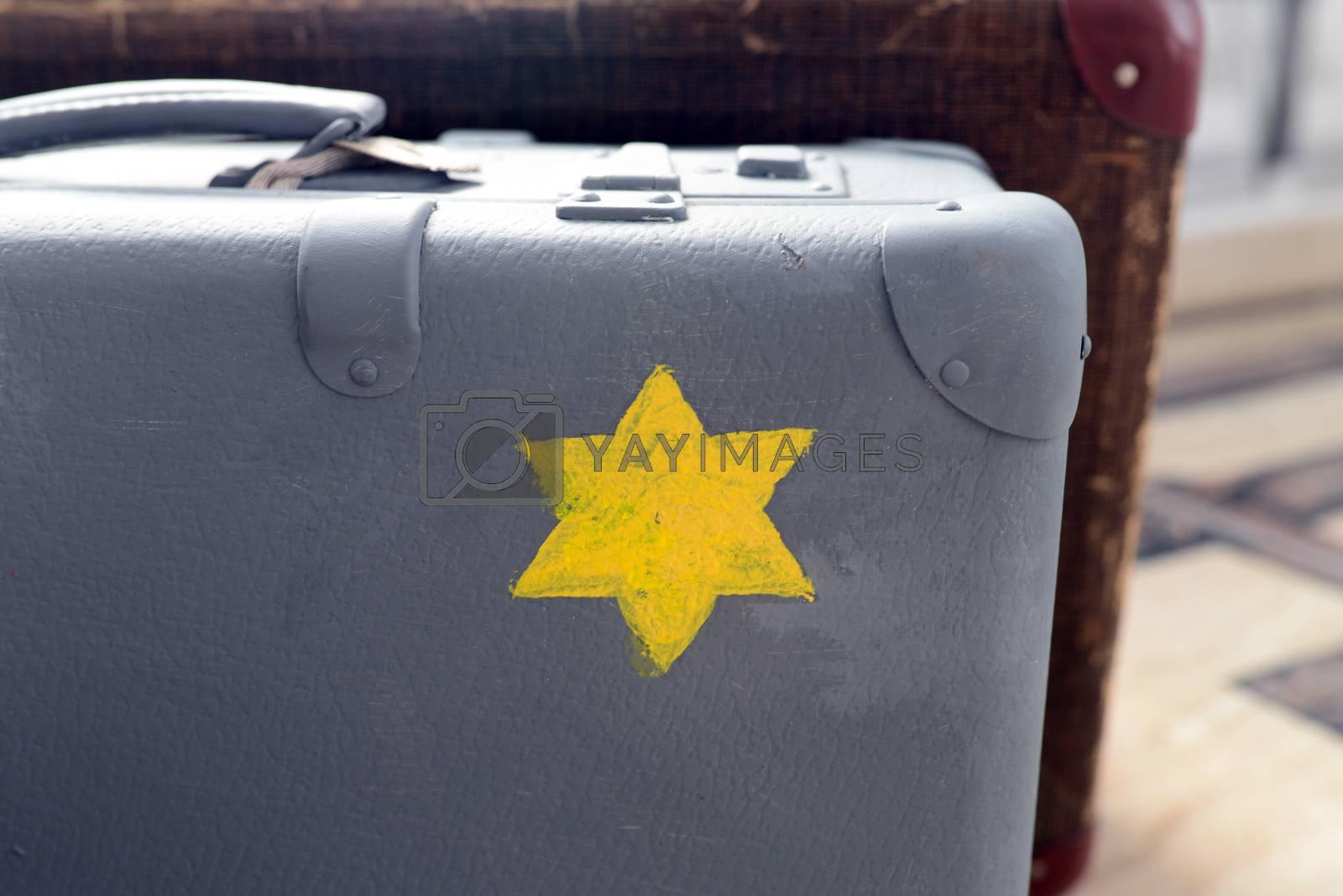 Royalty free image of jewish suitcase by tony4urban