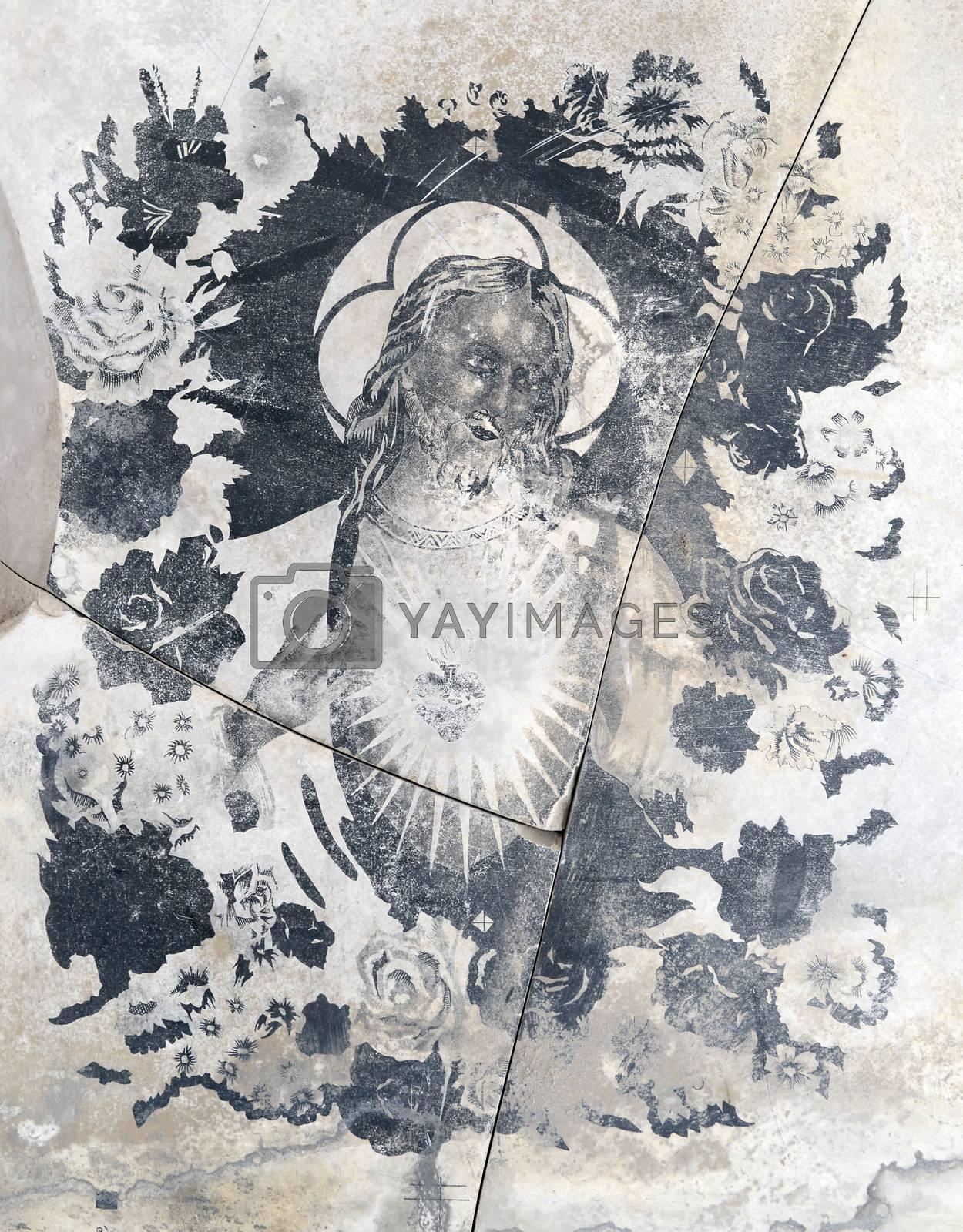 Royalty free image of religious icon by tony4urban