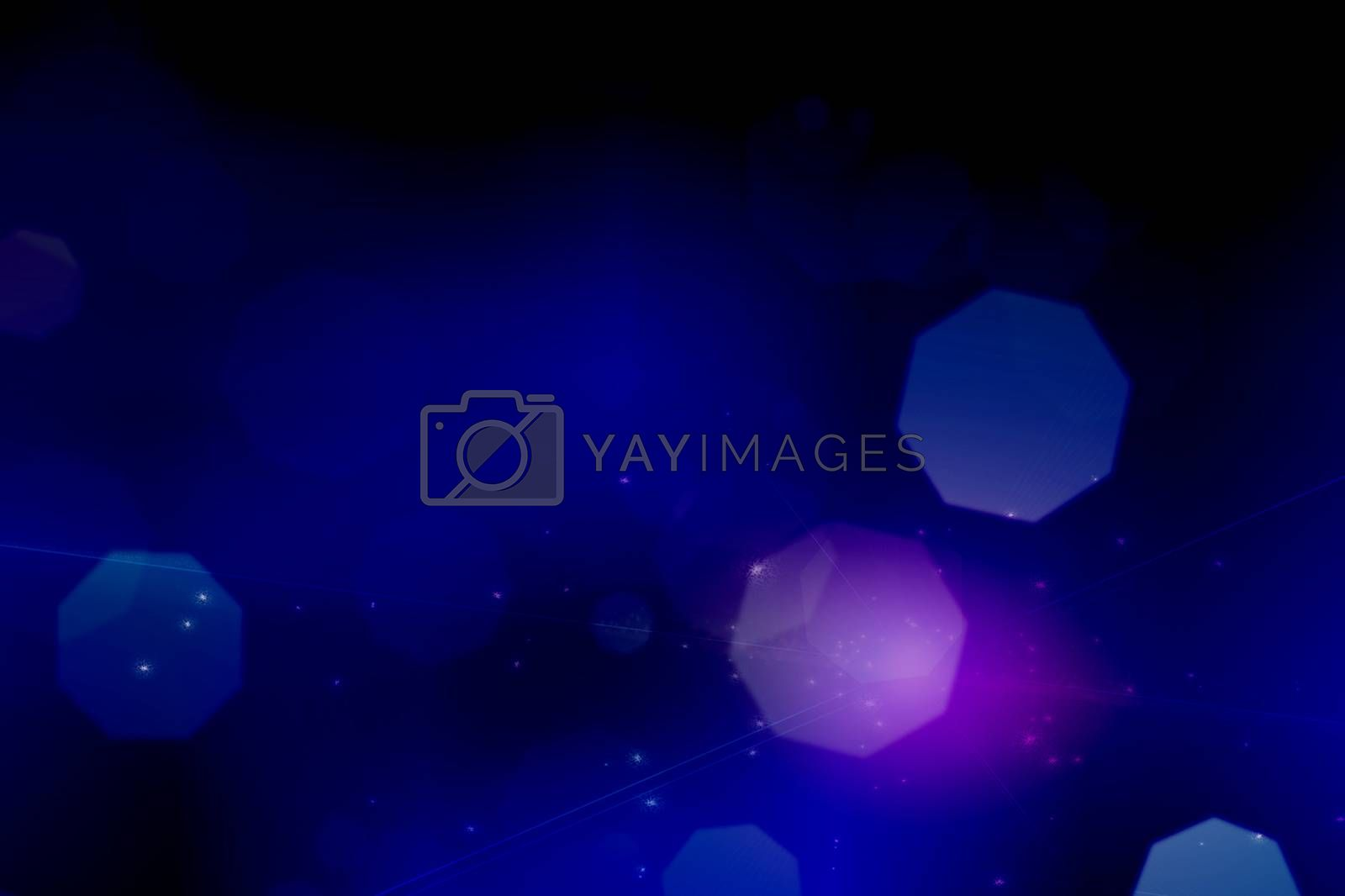Bokeh Abstract Background. 3D rendering