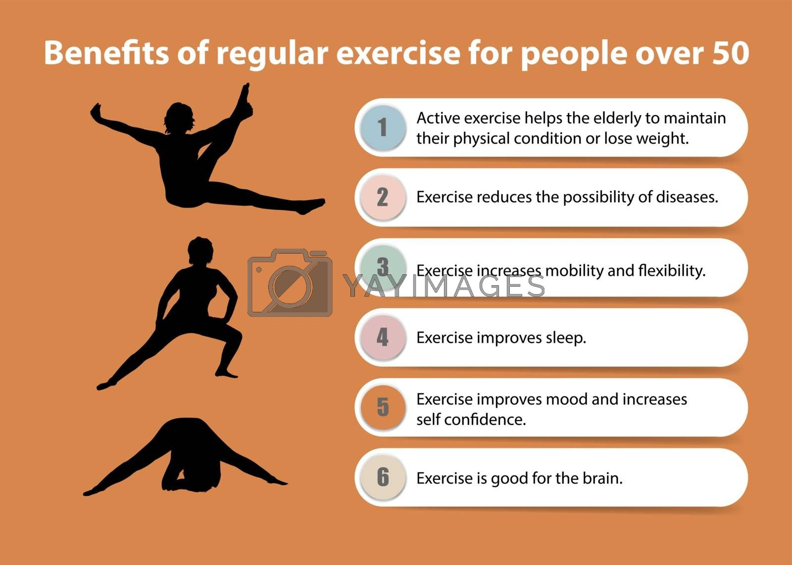 Benefits of regular exercise for people over 50 presentation by Frank11