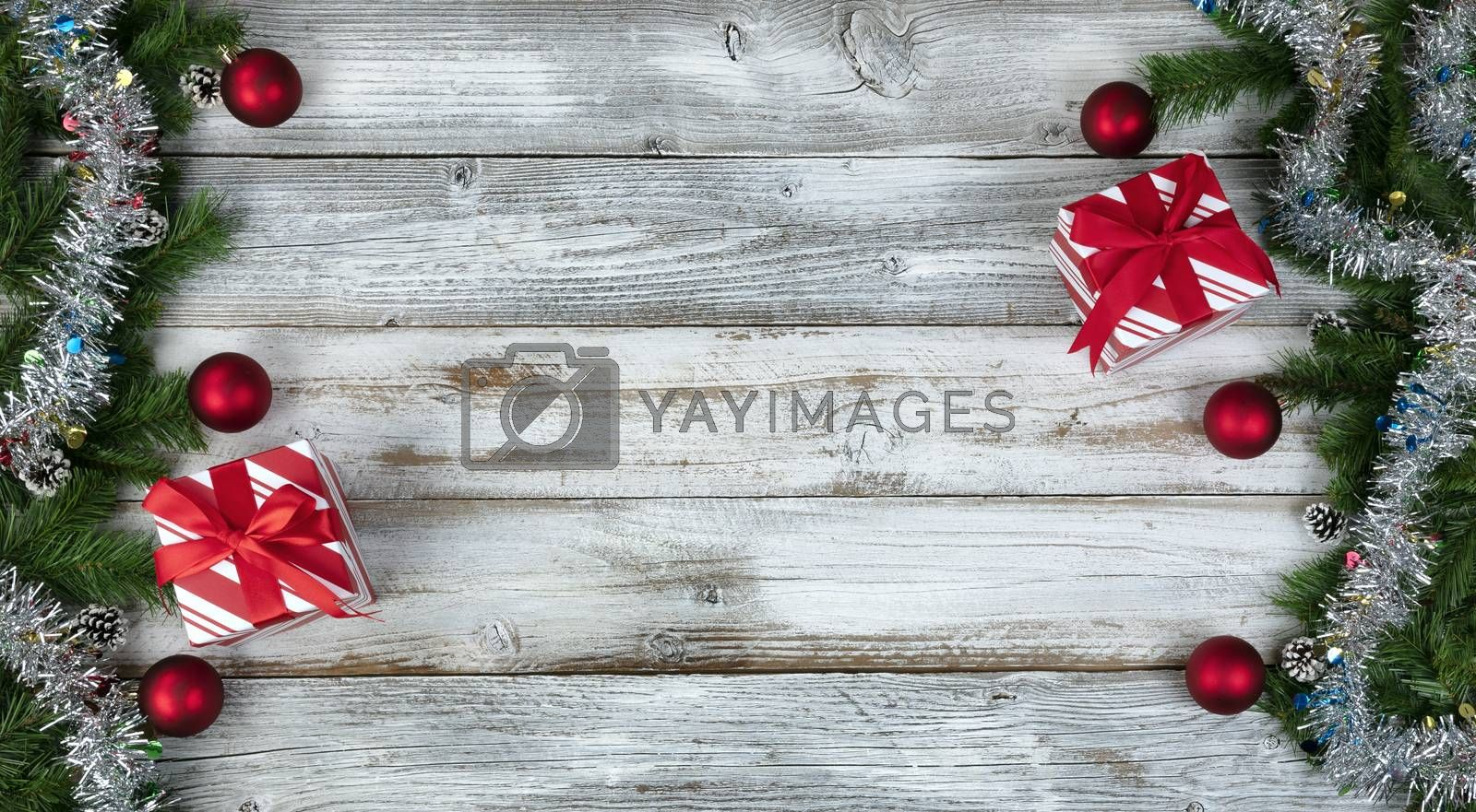 Winter holidays concept background for Christmas or New Year