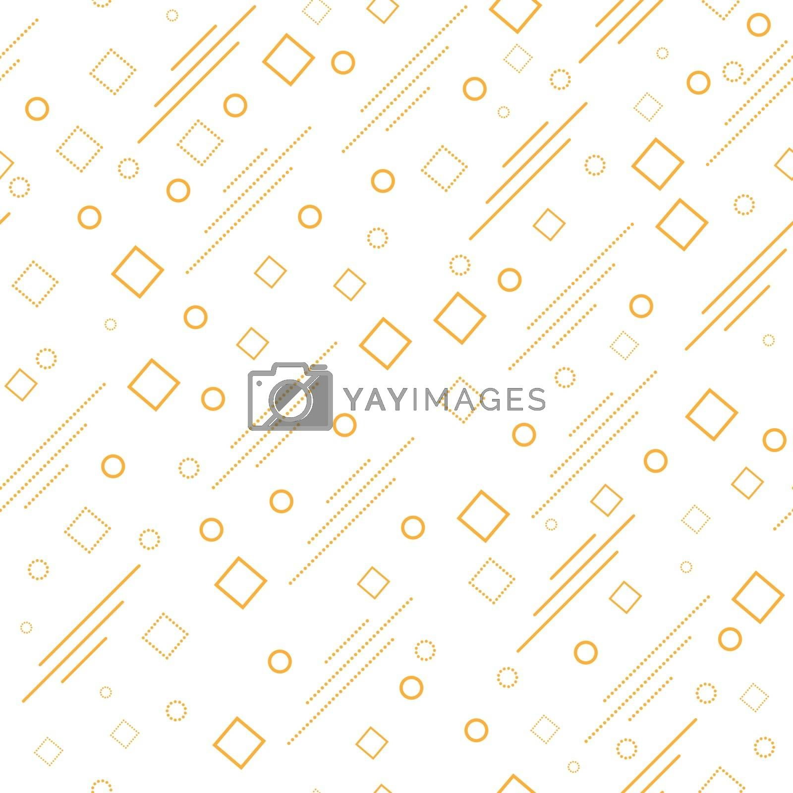 Seamless geometric abstract pattern for simple backgrounds, textures, and packaging. Vector illustration.