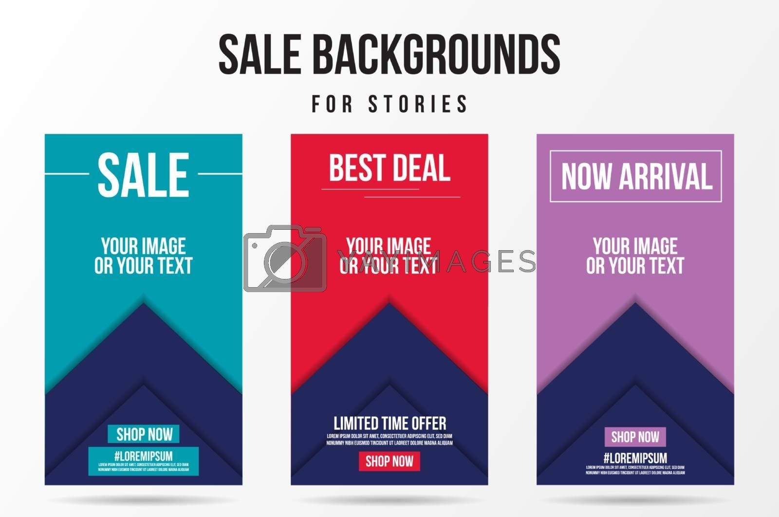 Trendy editable sale, special offer and new release template by Zeedoherty