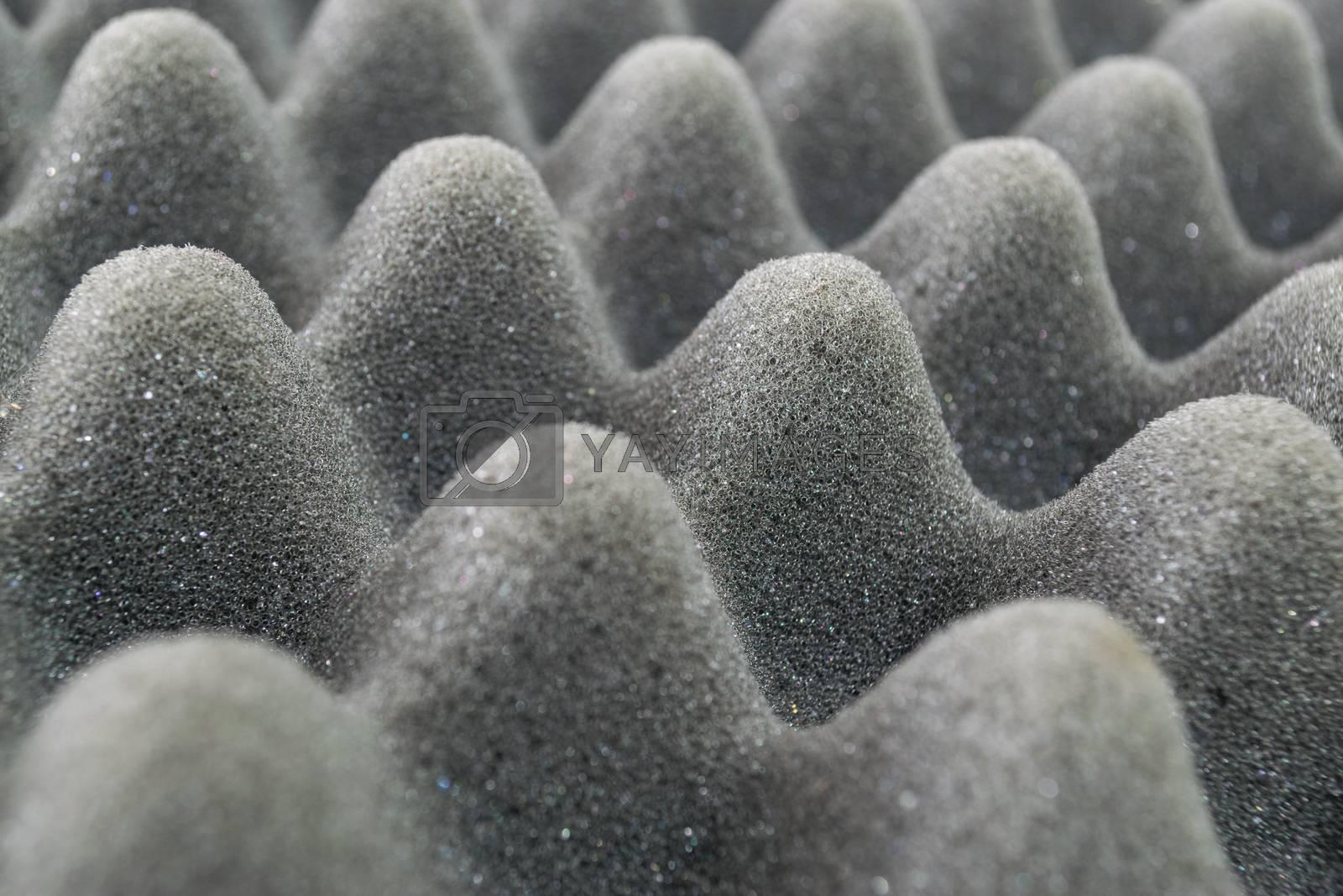 Beautiful Foam sponge texture background.
