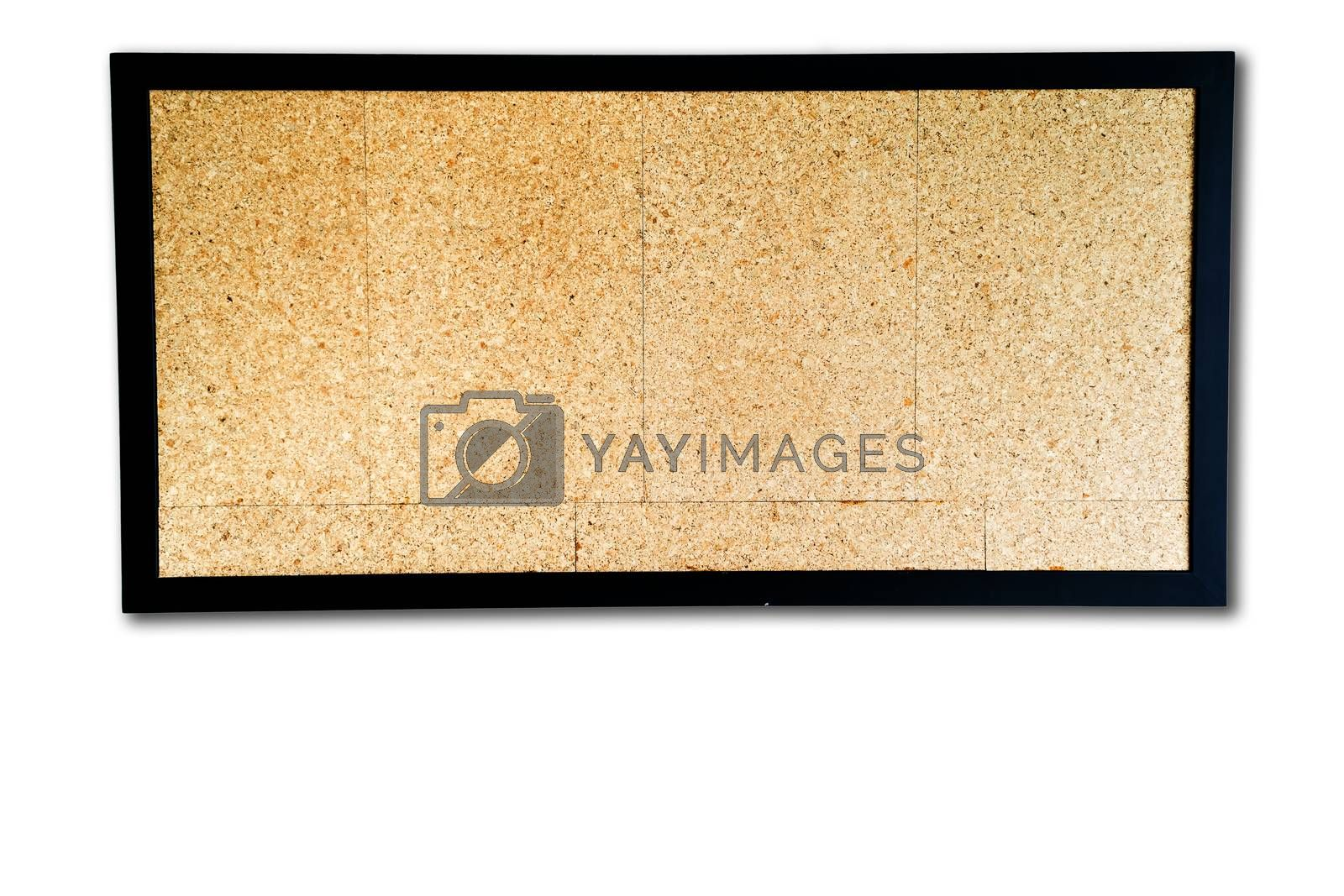 Plywood board is a type of strong thin wooden board consisting of two or more layers glued and pressed together with the direction of the grain alternating, and usually sold in sheets of four by eight feet.