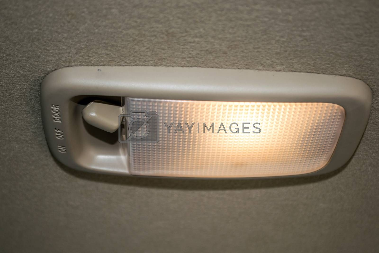 Automotive Lighting accessories for producing light in a car.