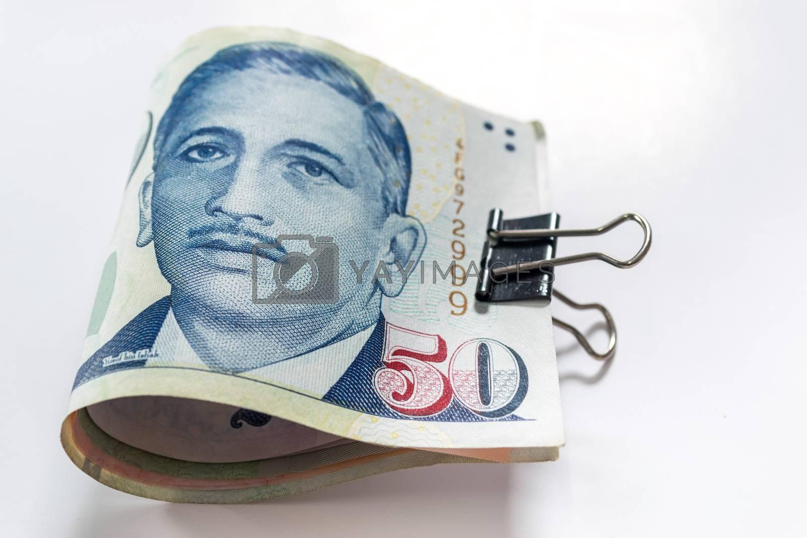 Singapore dollars  the basic monetary unit of Singapore.