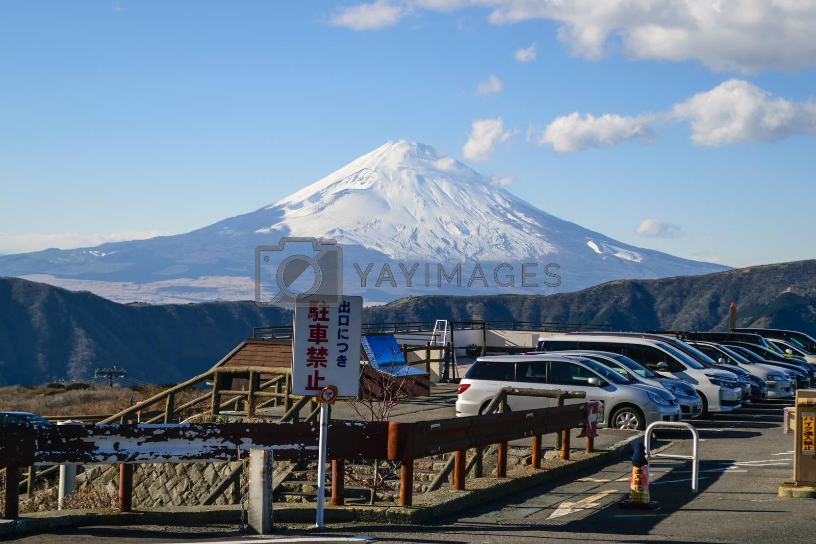 Skyline Mount Fuji. by wattanaphob