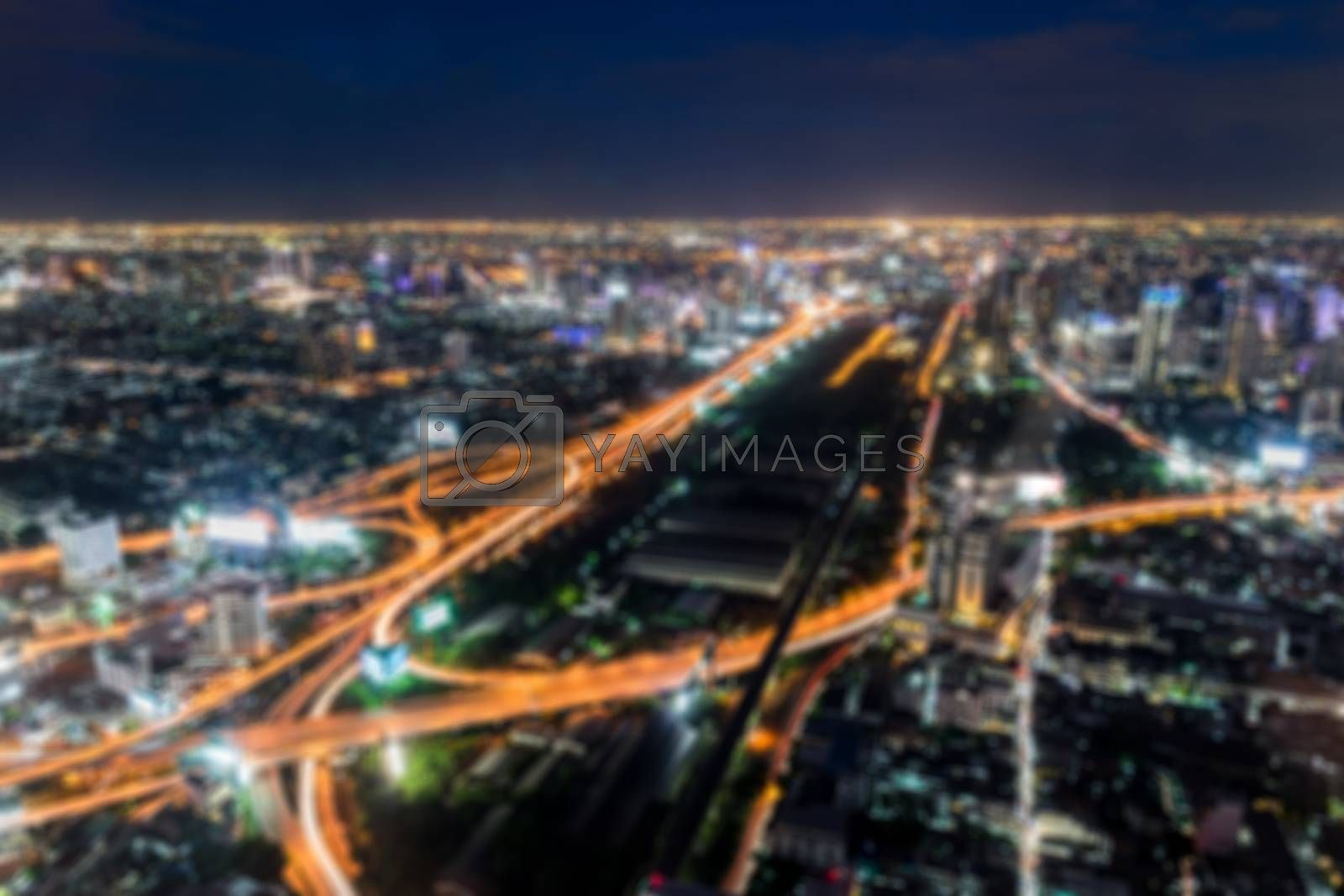 High point view on Bangkok Thailand. by wattanaphob