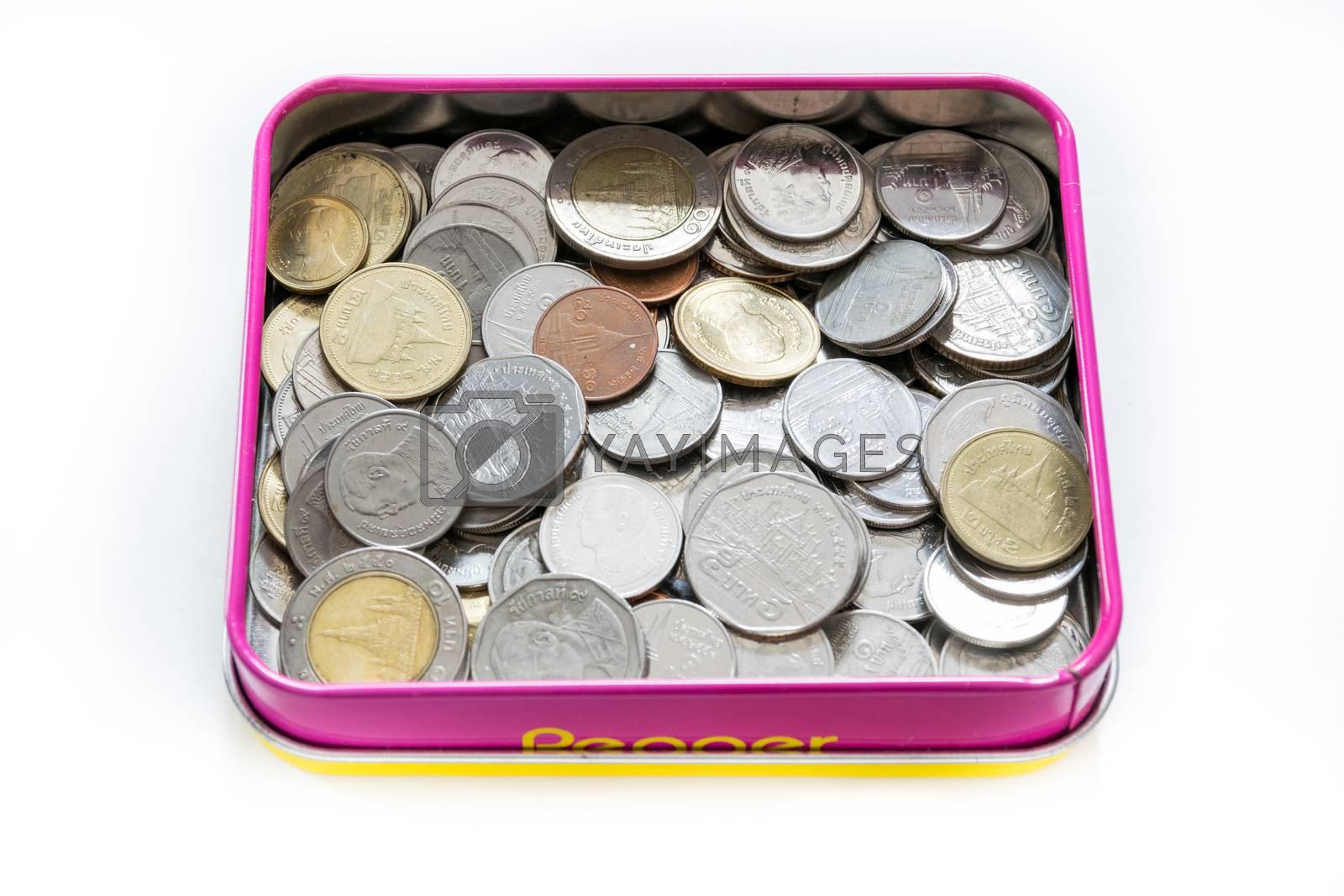 Coins baht thai 0.50,1,2,5,10
