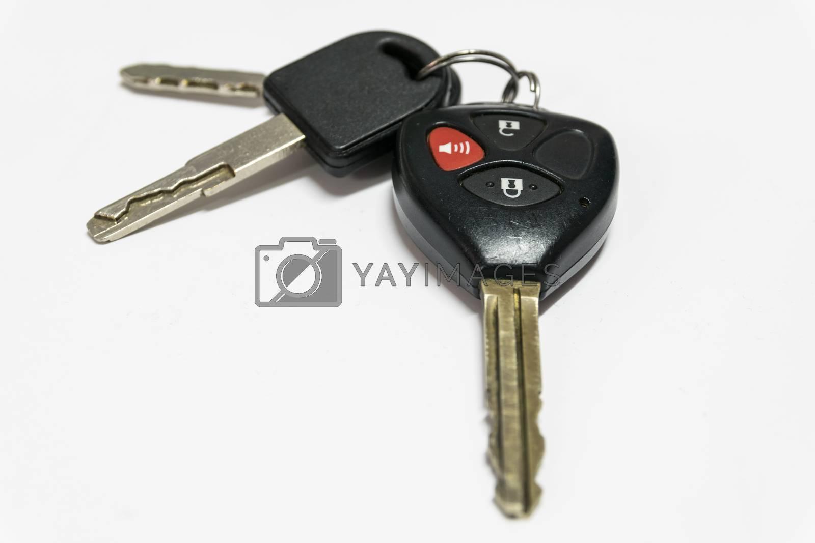 Car keys with remote control. by wattanaphob