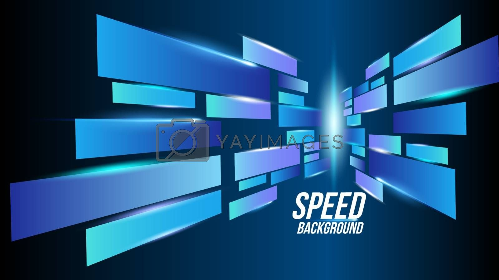 Abstract background technology high speed racing for sports by Zeedoherty