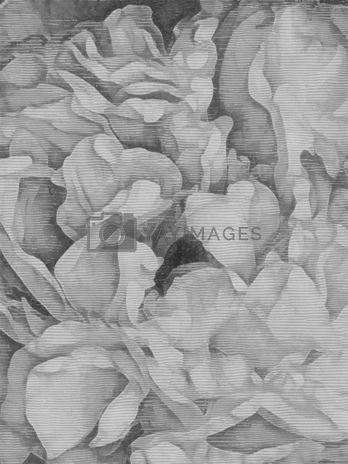 Flowers petals abstract by applesstock