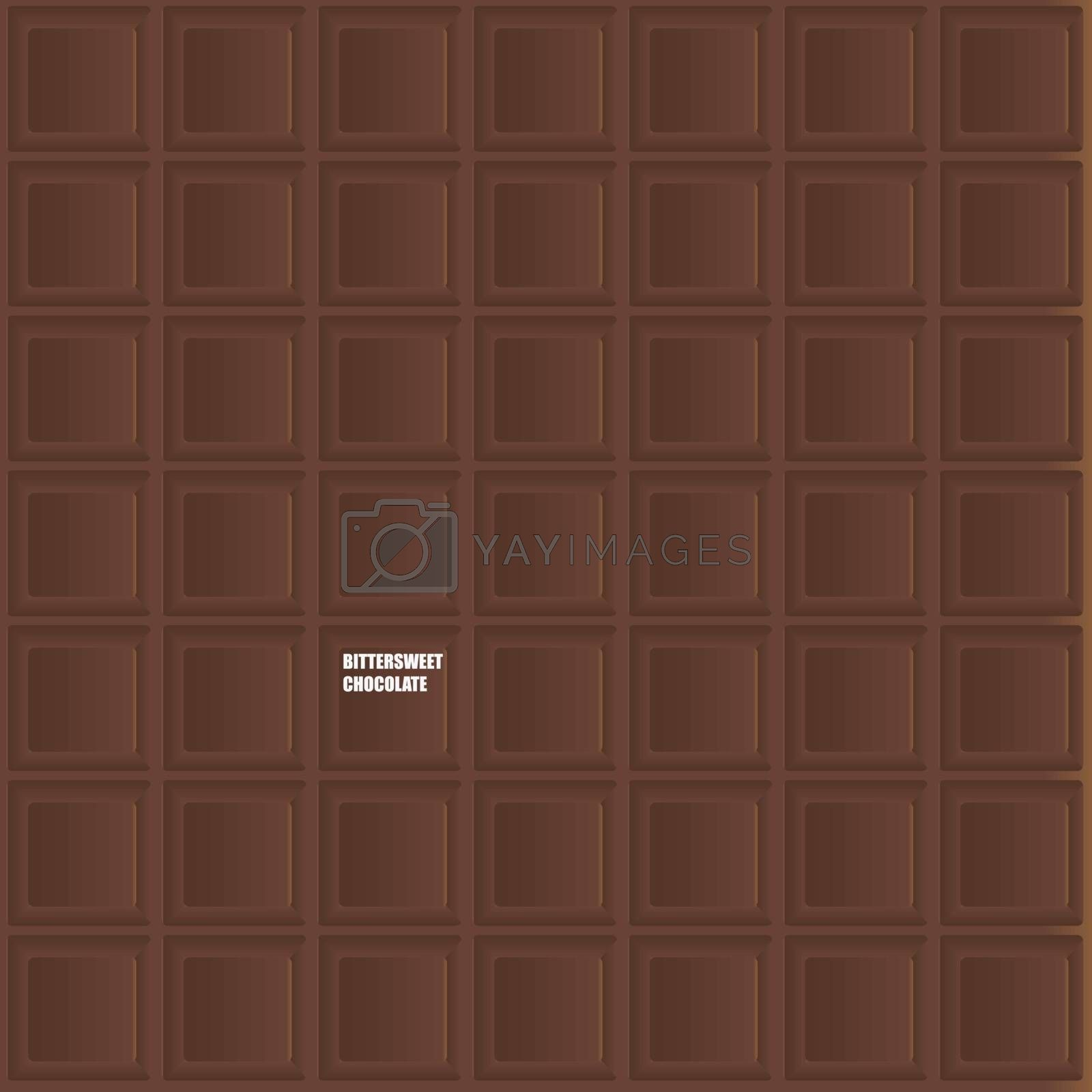 Royalty free image of Bittersweet Chocolate by VIPDesignUSA