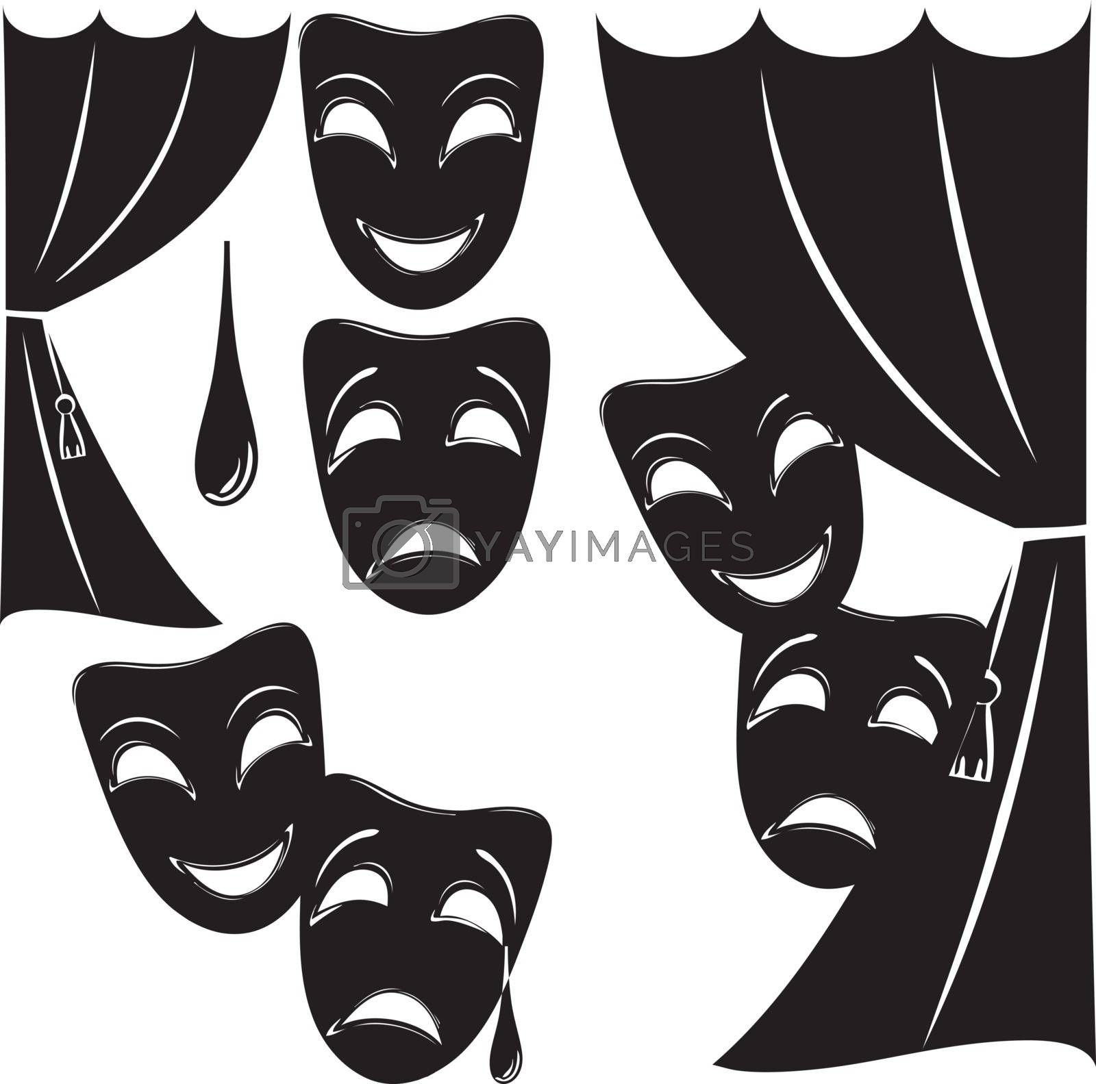 Royalty free image of Theatrical symbolism by VIPDesignUSA