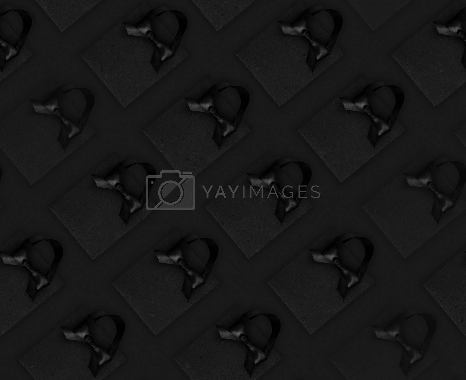 Royalty free image of Black Friday sale seamless background by destillat