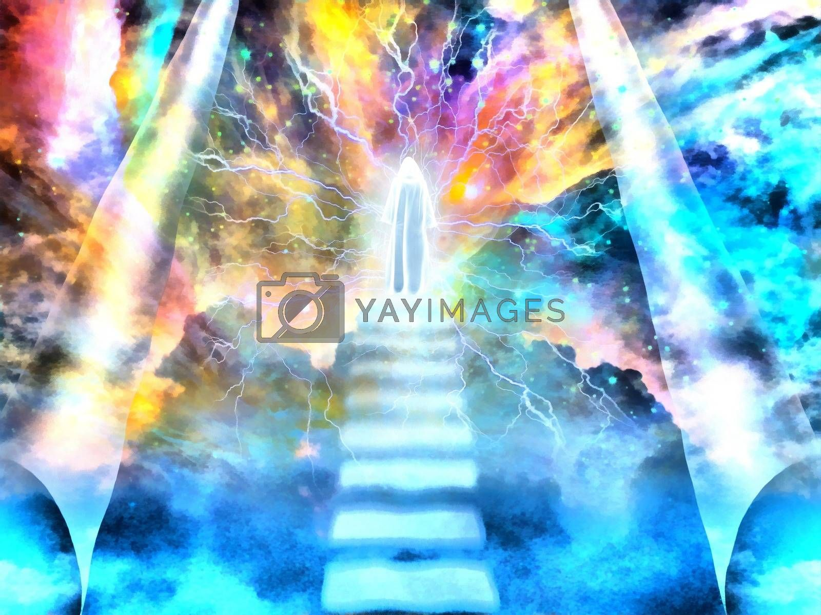 Royalty free image of To The God by applesstock