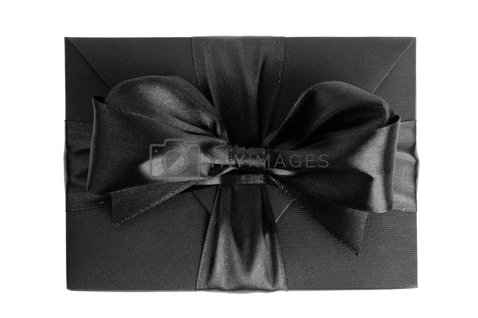 black friday box gift present isolated