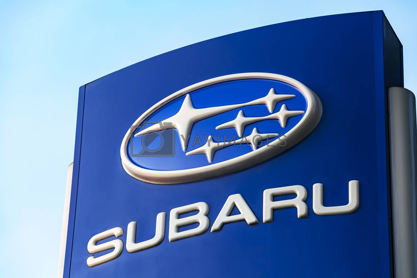 Logo of the Japanese automobile company Subaru