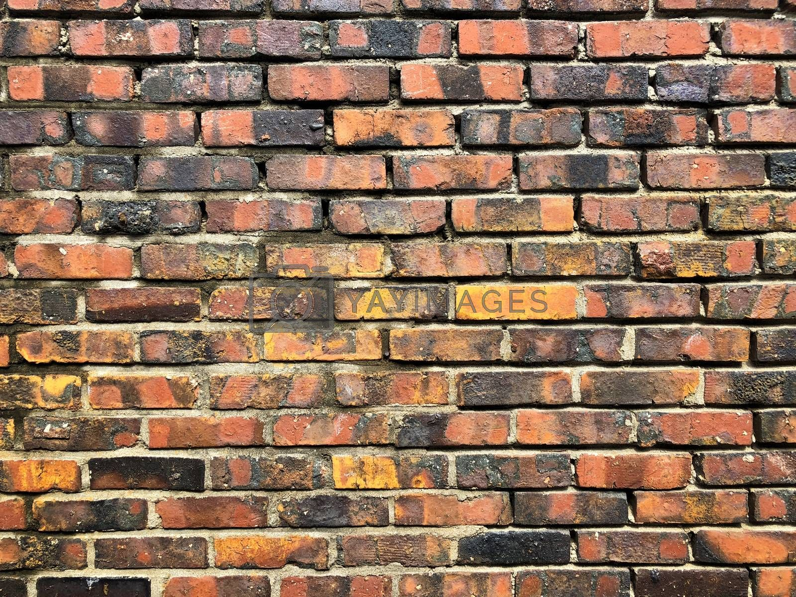 Brick wall background detail and close up