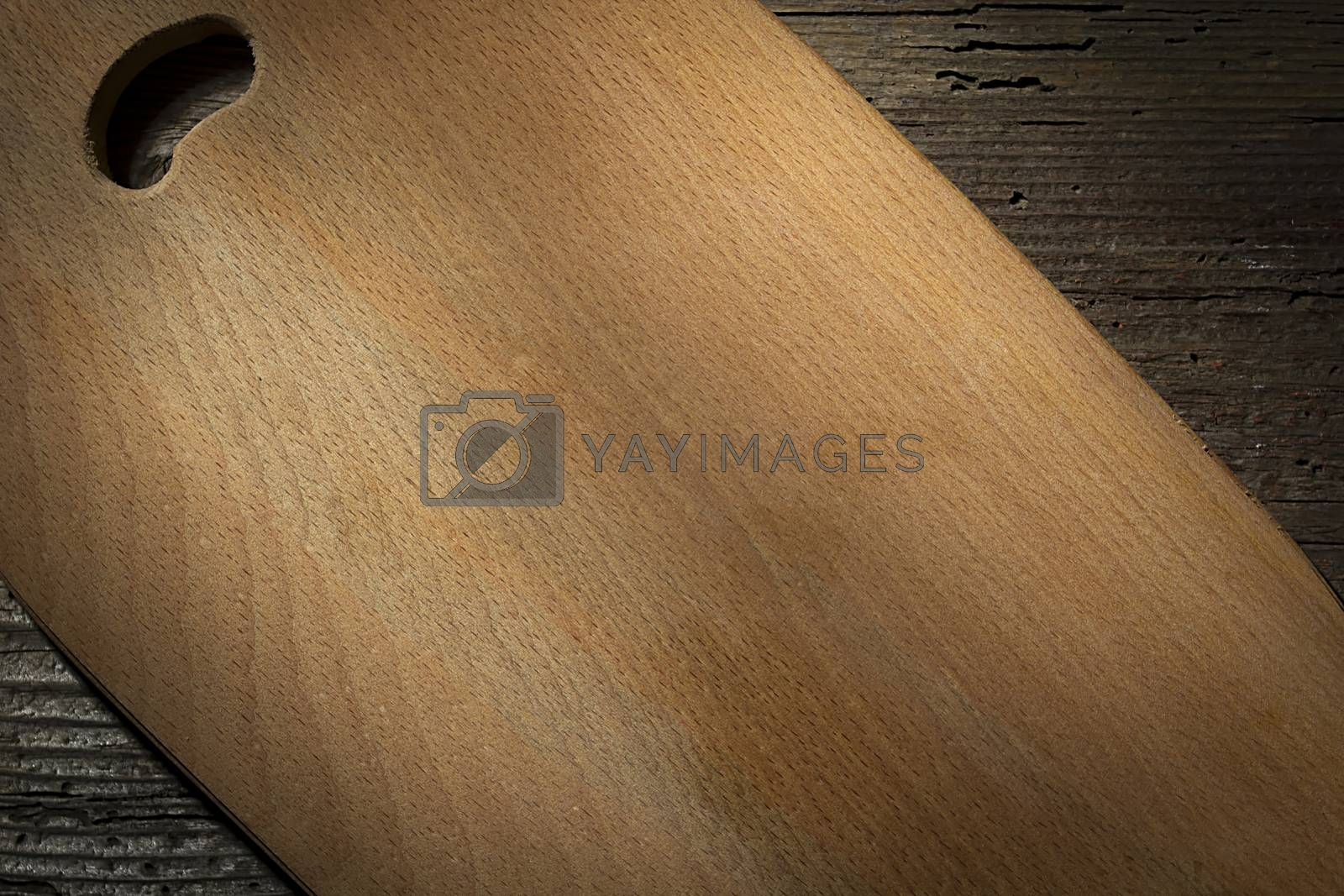 Royalty free image of Wooden cutting board by VIPDesignUSA
