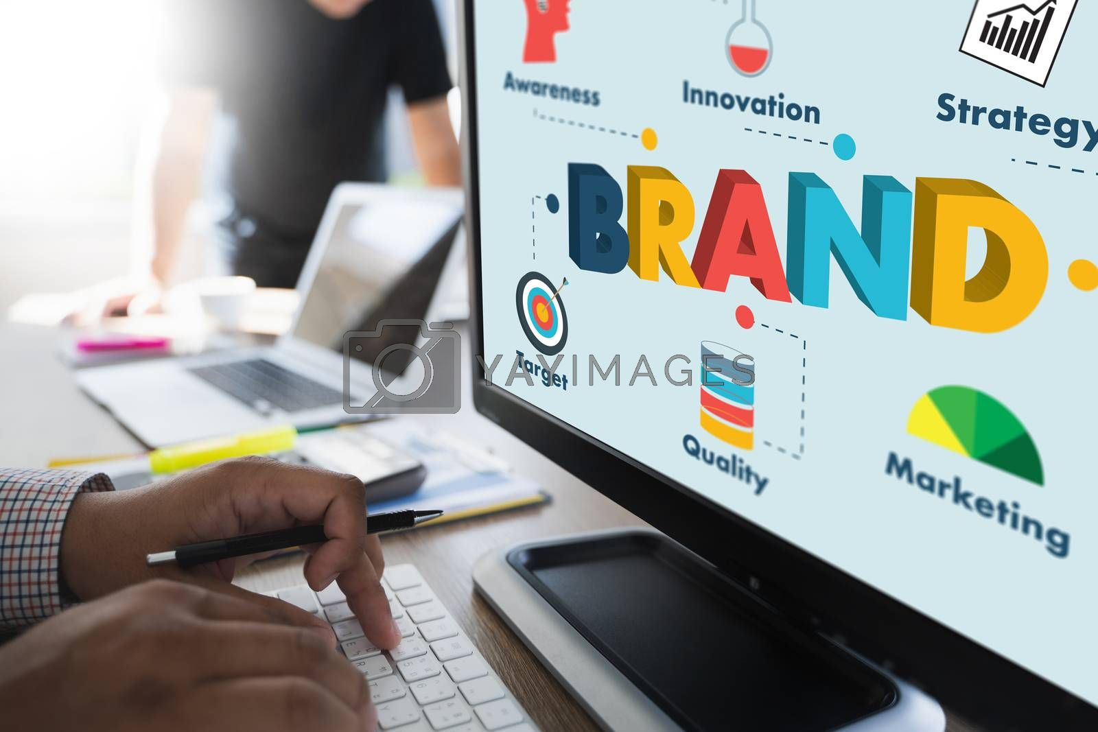 brand chart to Brand building for success Marketing product trademark