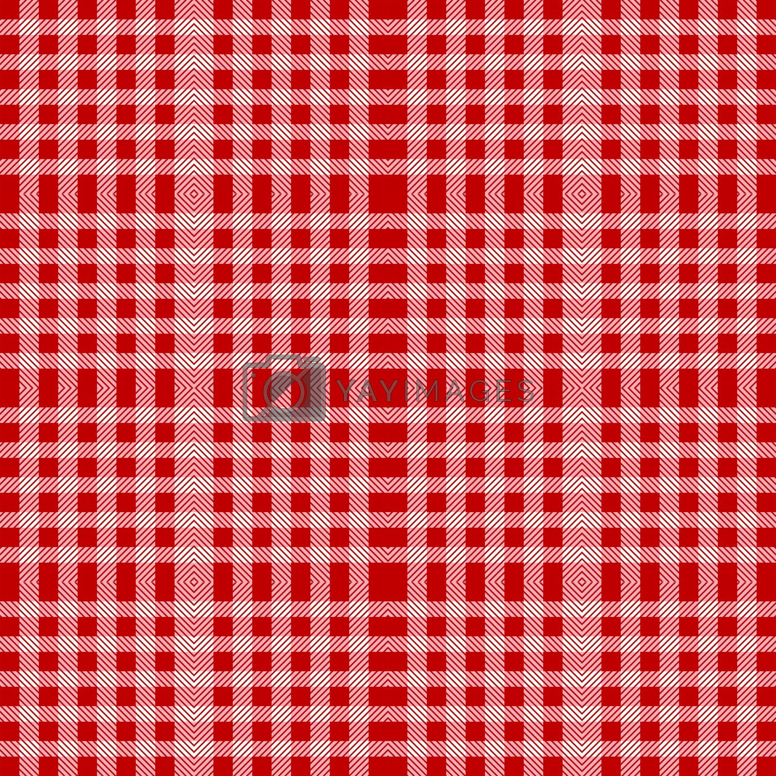 Red tablecloth texture seamless pattern