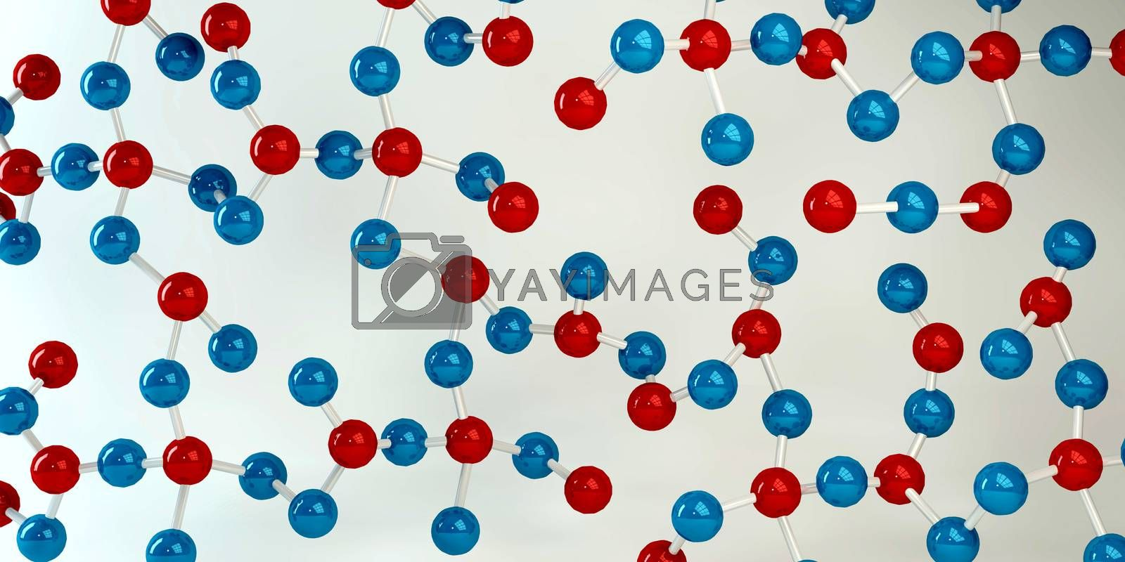 Medical Science with Molecule Structure Abstract Background
