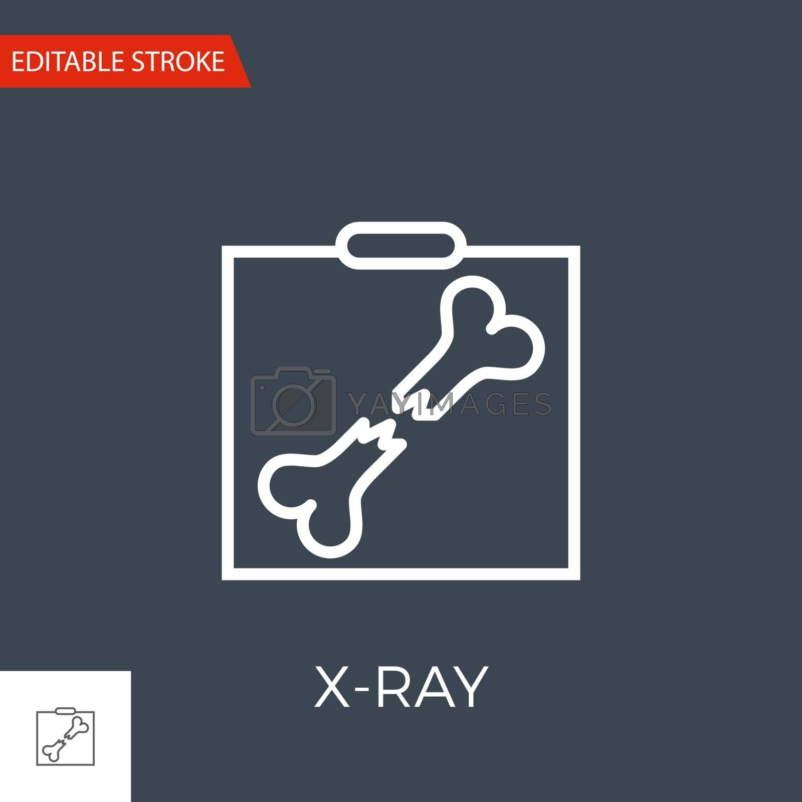 X-ray Vector Icon by smoki