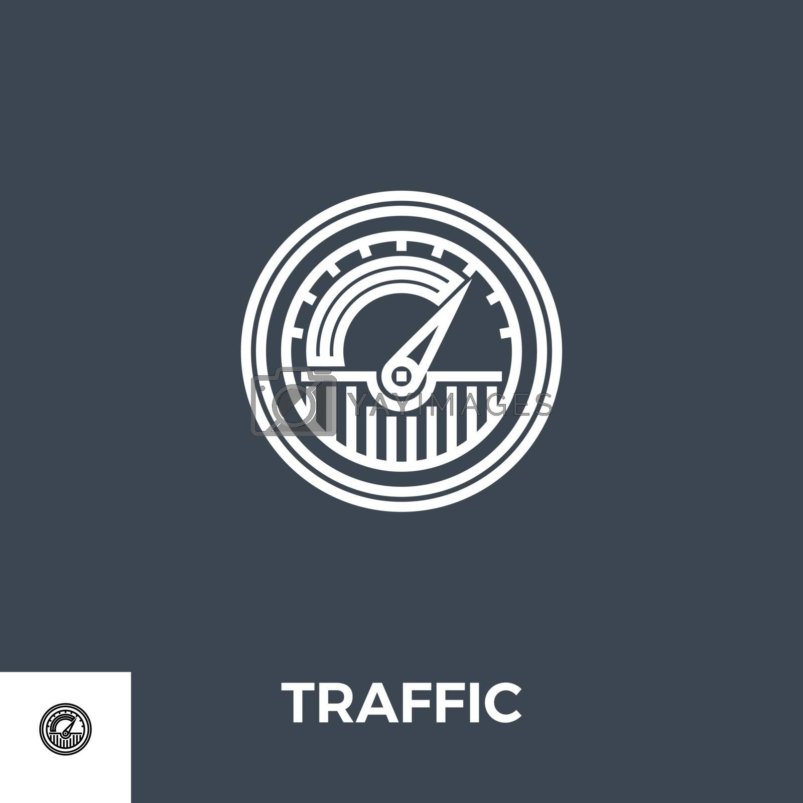 Traffic icon vector. by smoki