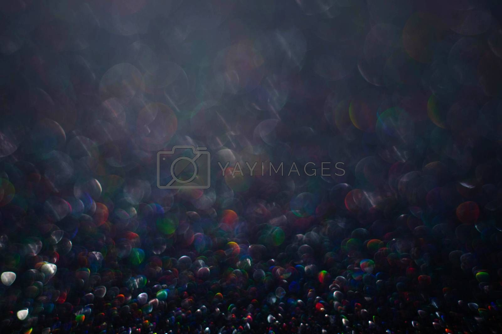 Royalty free image of Abstract black party background by destillat