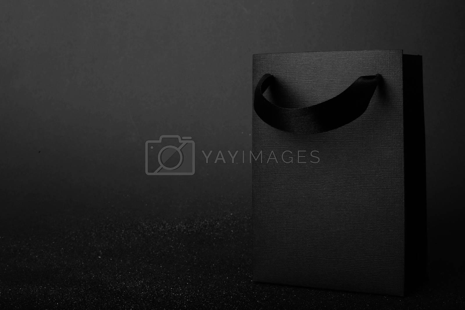Royalty free image of Black Friday paper bag by destillat
