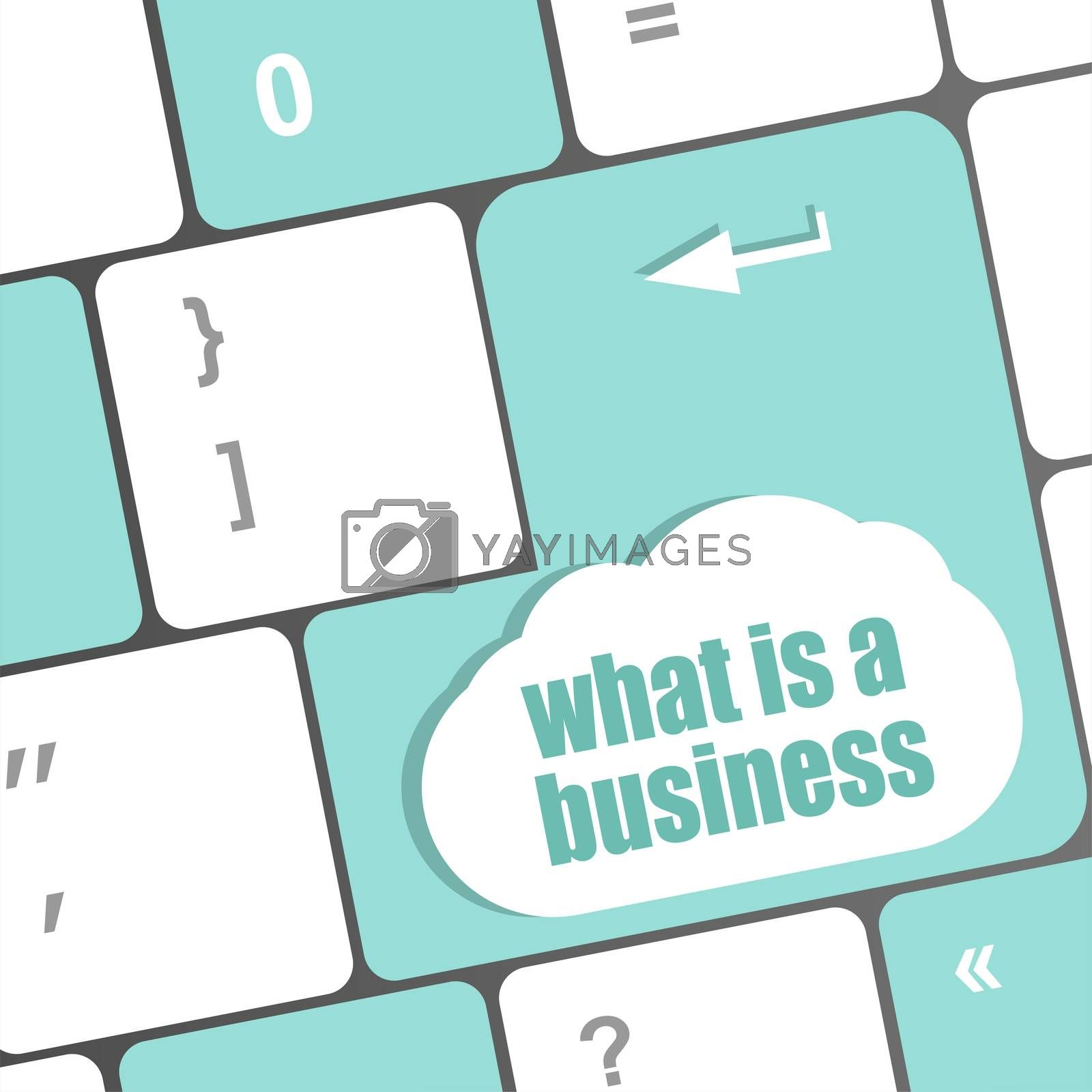 what is business button on computer keyboard key