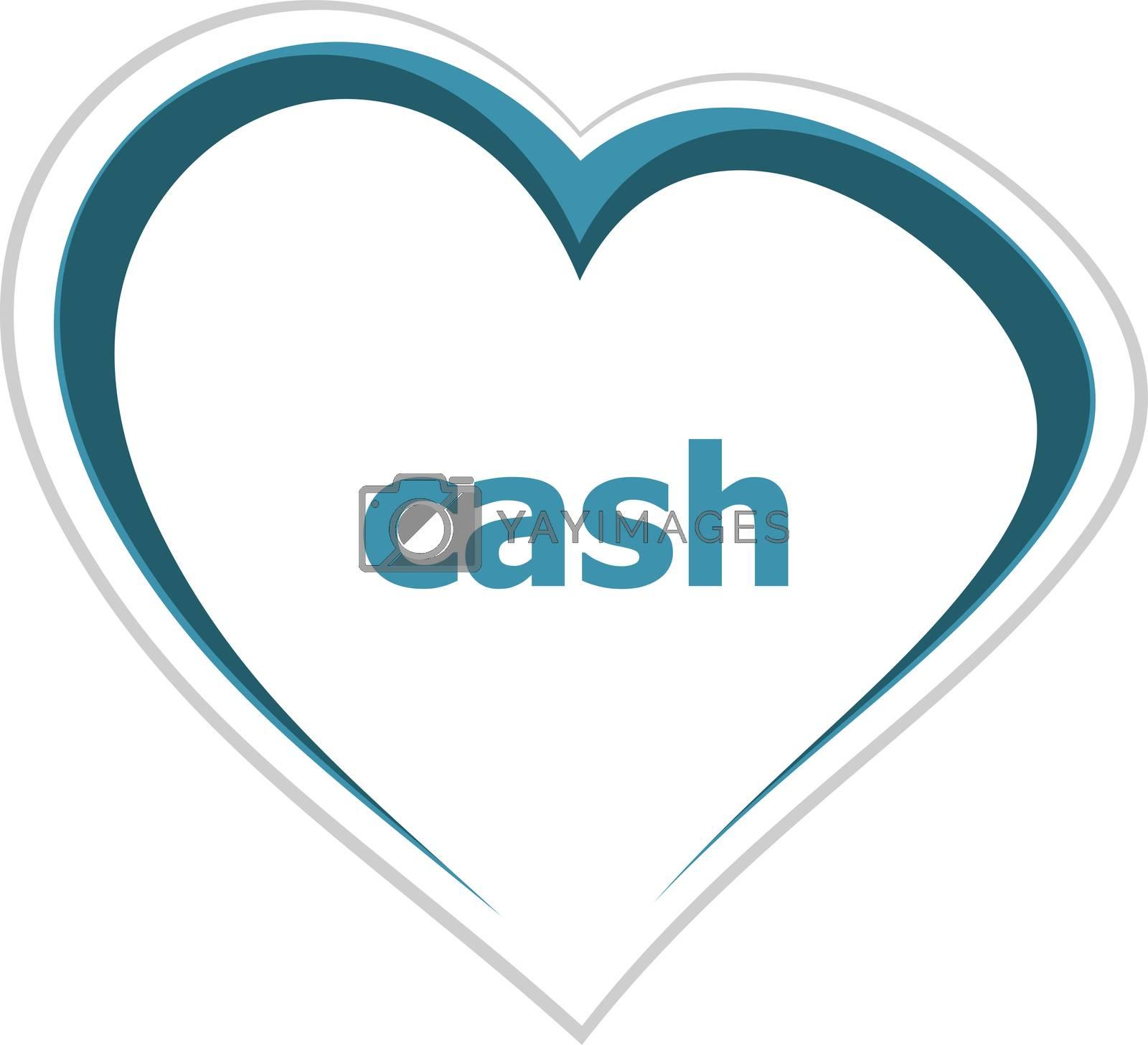 Text Cash. Business concept