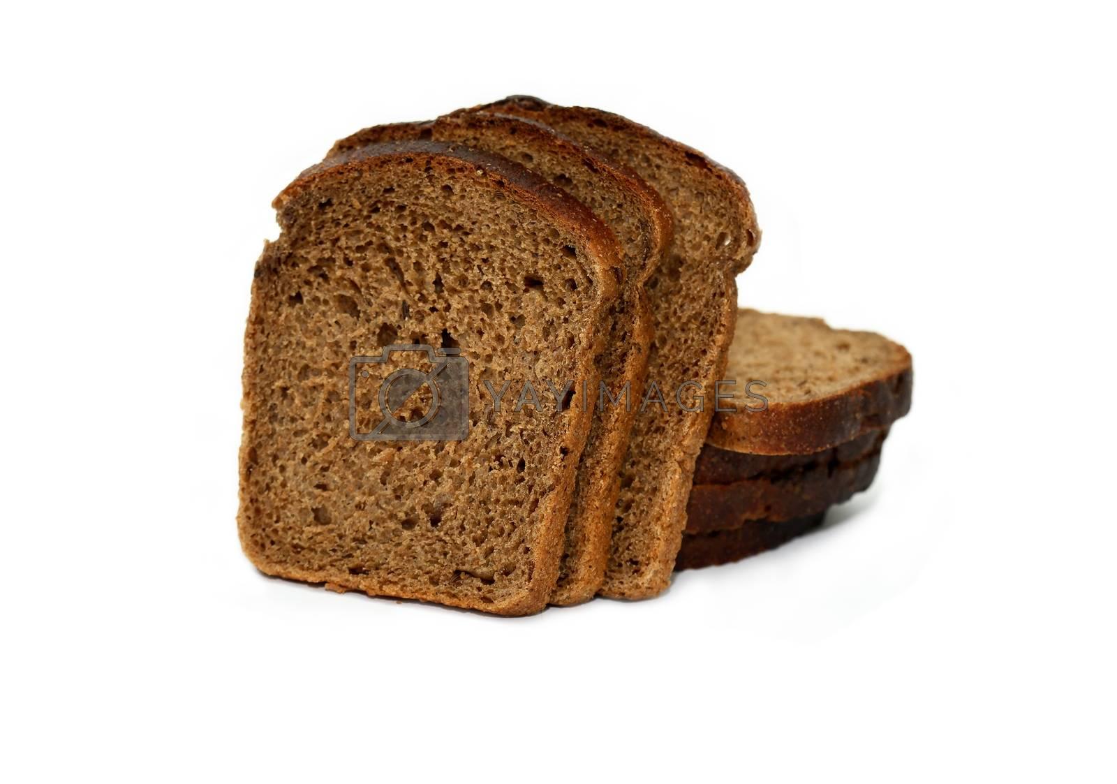 Royalty free image of Sliced Rye Bread by kvkirillov