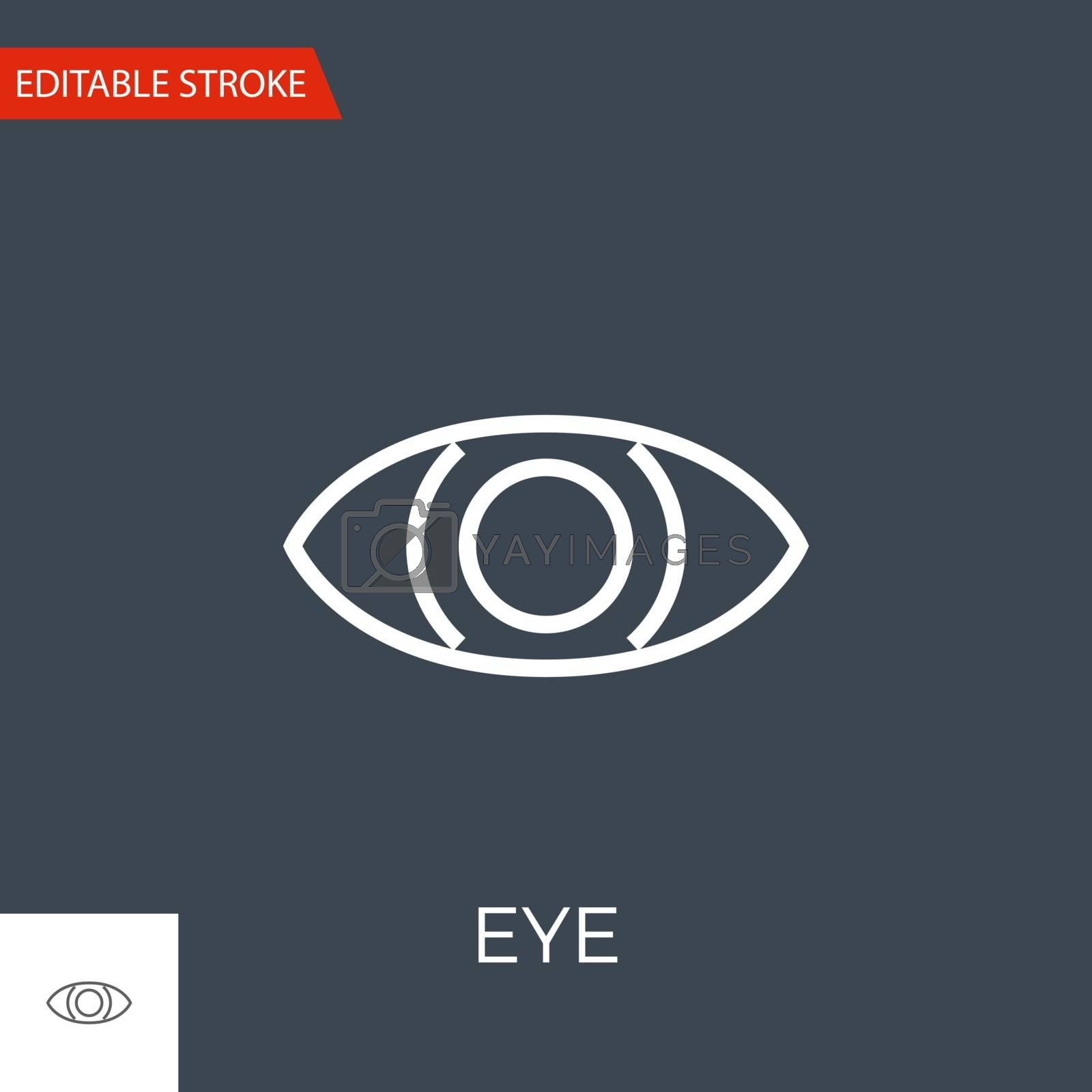 Eye Vector Icon by smoki