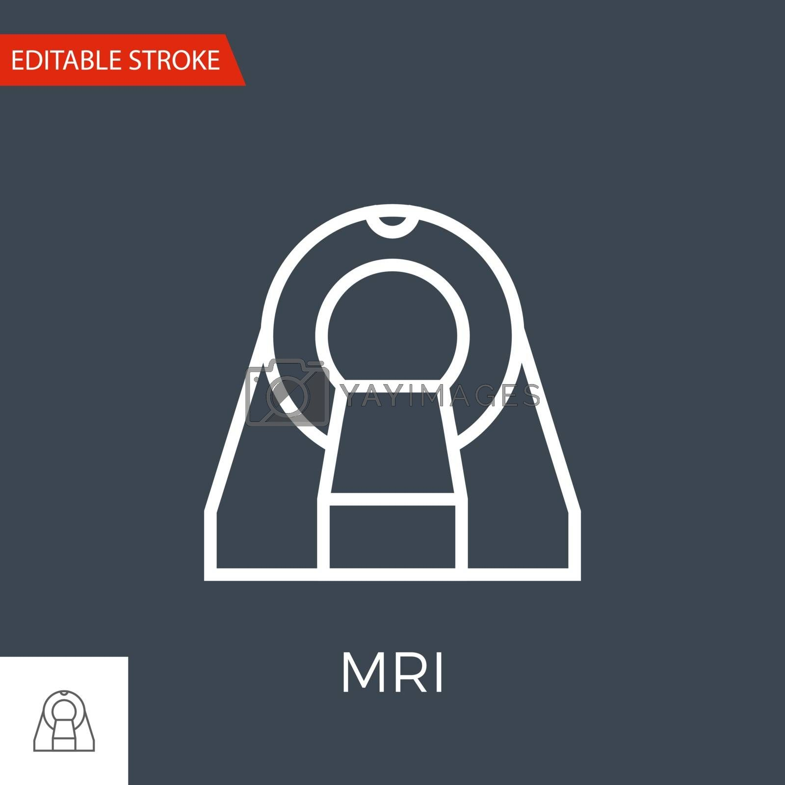 MRI Vector Icon by smoki