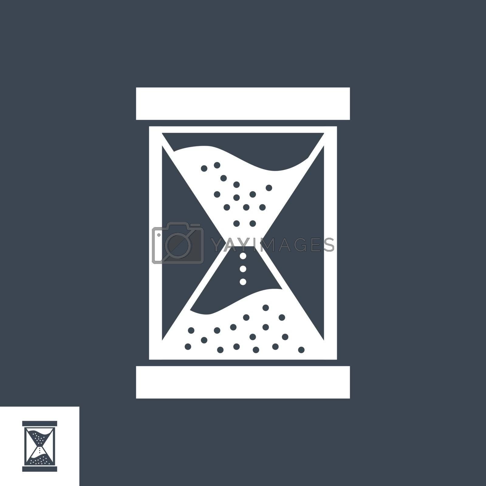 Campaign Timing Vector Glyph Icon by smoki