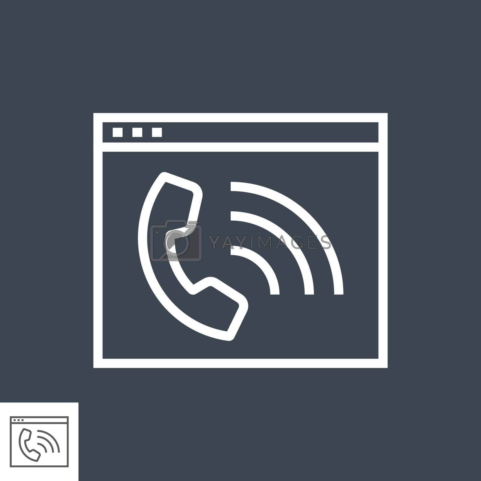 Web Page with Phone by smoki